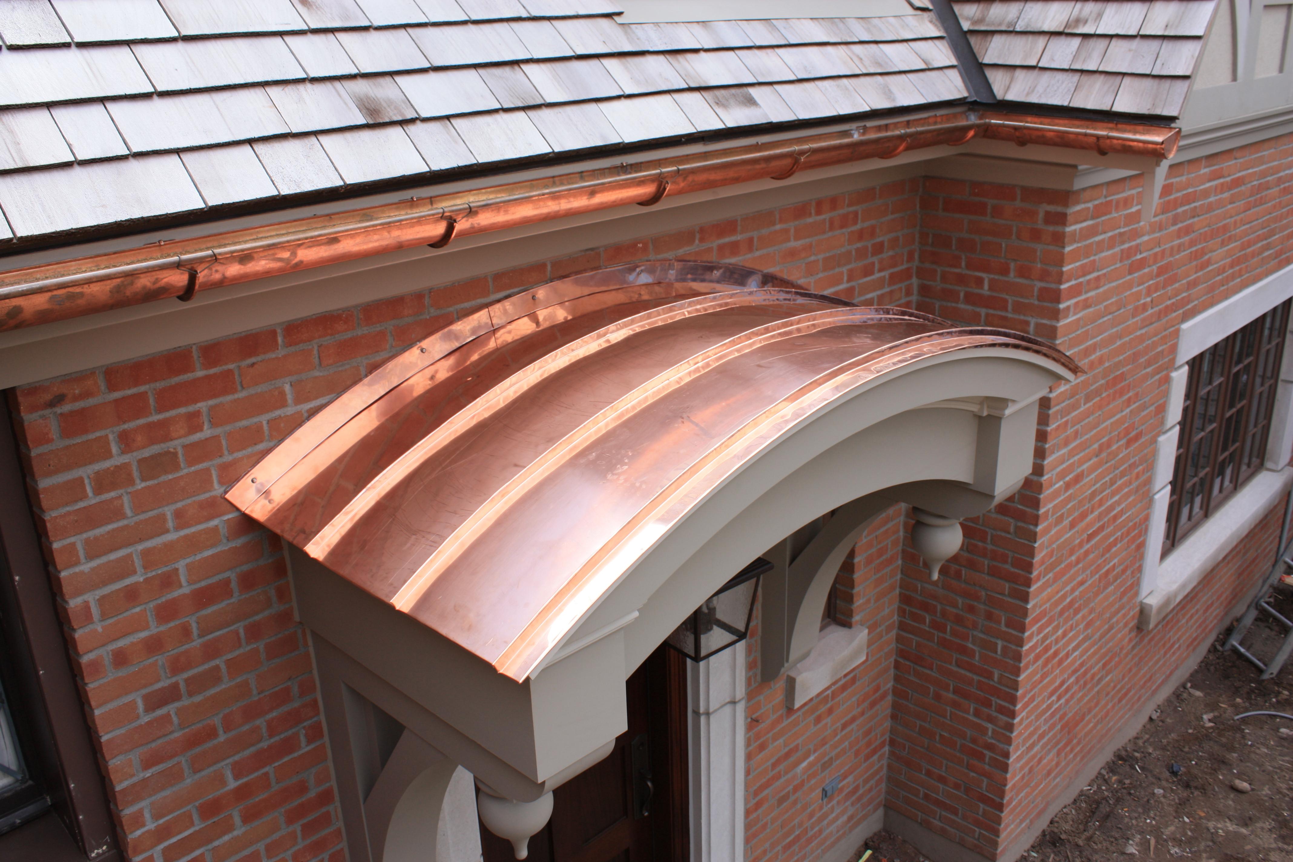 Copper Roofing Upper Canada Cedar Roof