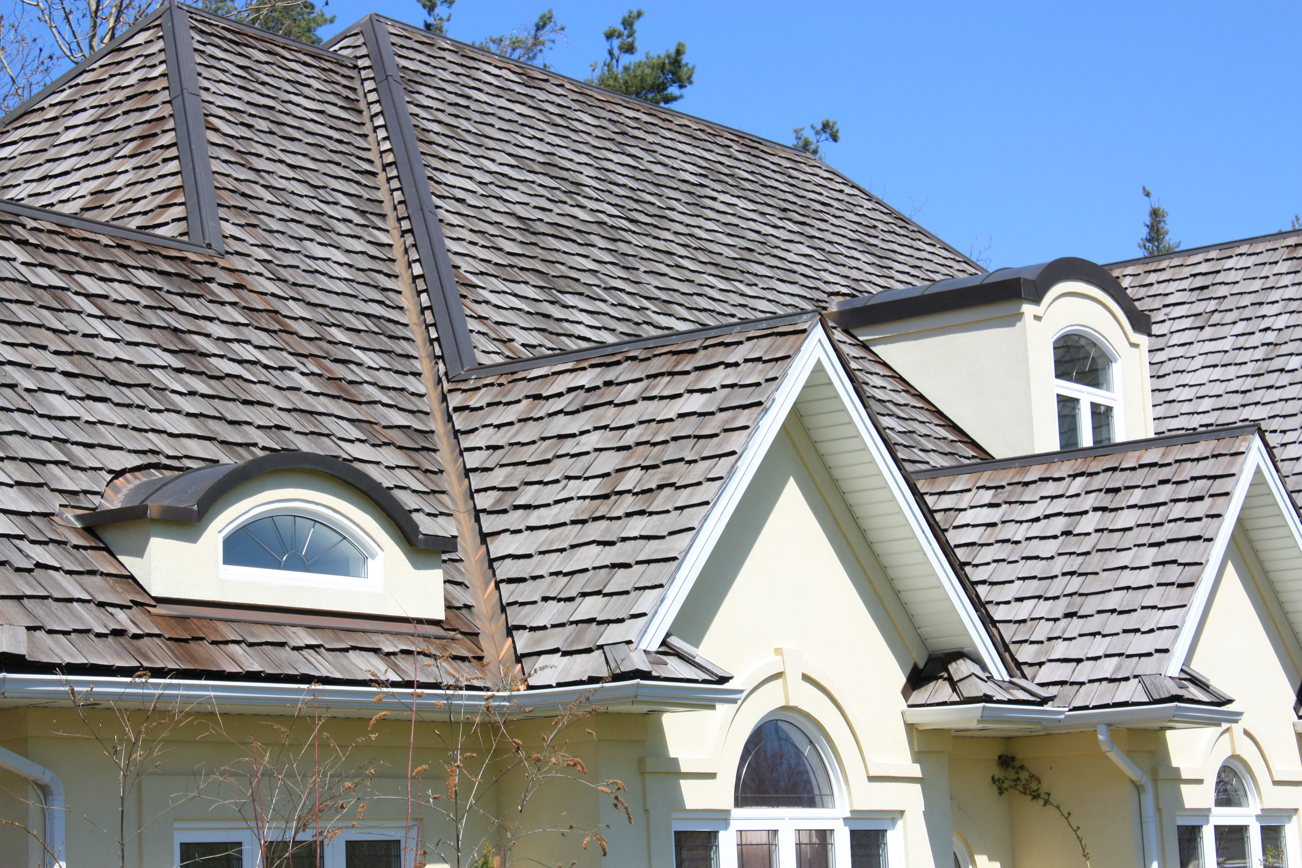 Copper Roofing Upper Canada Cedar Roof